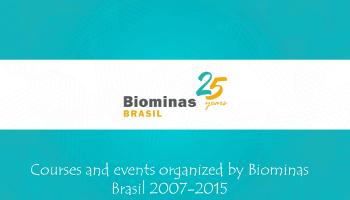 Cursos e eventos organizados pela Biominas